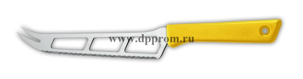 Нож для сыра 9655 15 см желтый