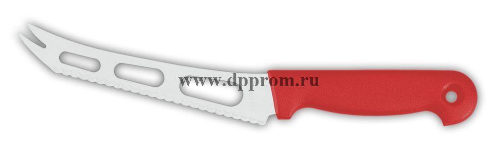 Нож для сыра 9655sp 15 см красный