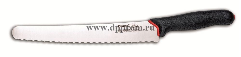 Нож универсальный Prime Line с волнистой заточкой 218265 w10 - 25 см черный