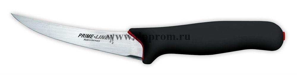 Обвалочный нож Prime Line 11253 13 см, очень гибкий черный