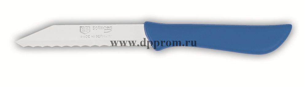 Нож для булочек 8307wsp 8 см, волнистое лезвие синий