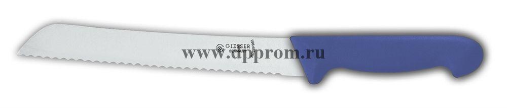 Нож для хлеба 8355 w 21 см с волнистым лезвием синий