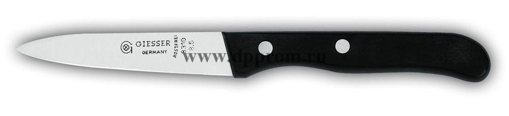 Нож овощной 8310p 8,5 cm черный