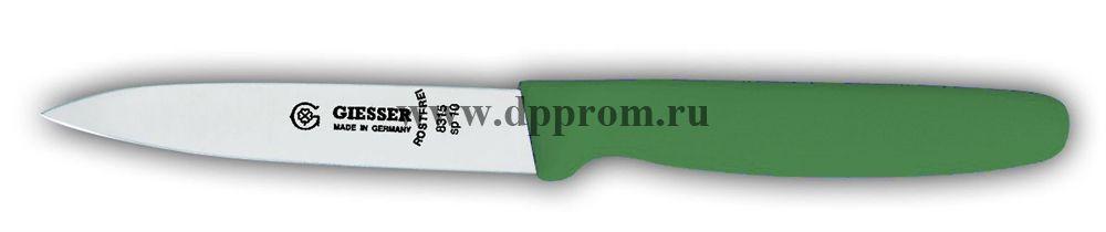 Нож овощной 8315sp 10 см зеленый