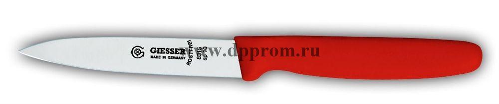 Нож овощной 8315sp 10 см красный