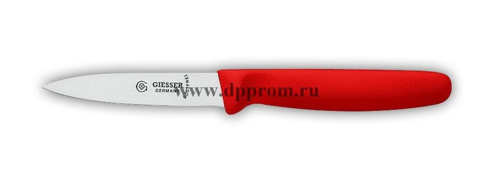 Нож овощной 8315sp 8 см красный