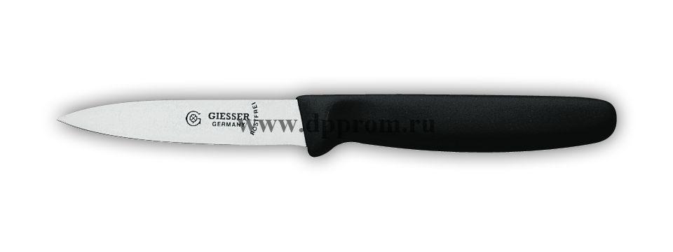 Нож овощной 8315sp 8 см черный