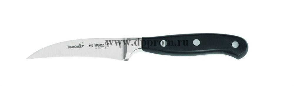 Нож для чистки BestCut 8643 6 см черный