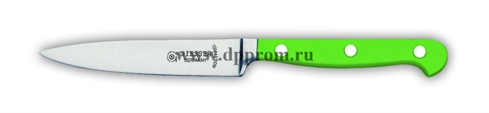 Нож поварской 8240 10 см, узкий зеленый