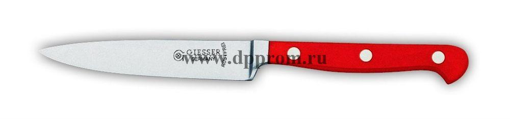 Нож поварской 8240 10 см, узкий красный
