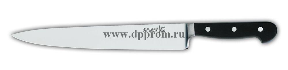 Нож поварской 8270 25 см, узкий черный