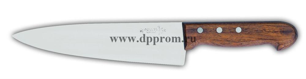 Нож поварской 8450 20 см с деревянной ручкой