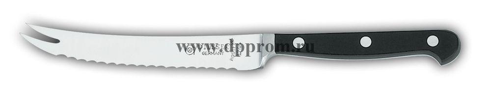 Нож для помидоров 8244 13 см, узкий черный