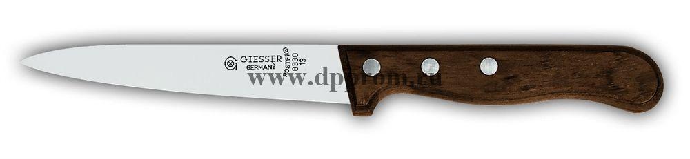 Нож кухонный 8330 13 см с деревянной ручкой