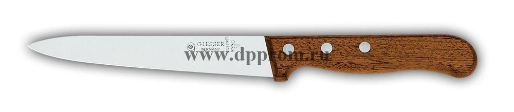 Нож кухонный 8330 15 см с деревянной ручкой