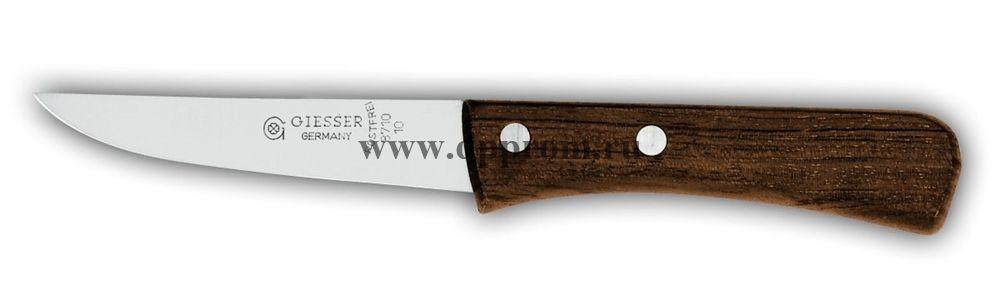 Нож кухонный 8710 10 см с деревянной ручкой