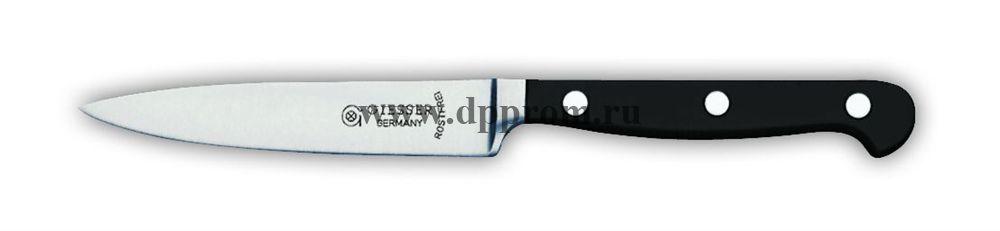 Нож поварской 8240 10 см, узкий черный