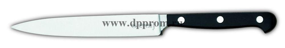 Нож поварской 8240 13 см, узкий черный