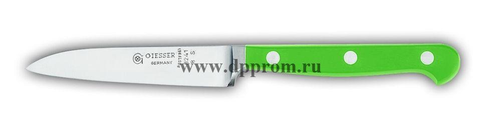 Нож поварской 8241 8 см, узкий зеленый