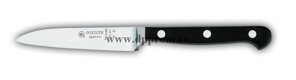 Нож поварской 8241 8 см, узкий черный