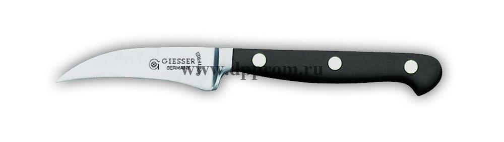 Нож поварской 8243 9 см, узкий черный