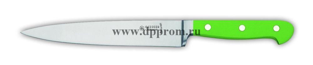 Нож поварской 8270 18 см, узкий зеленый