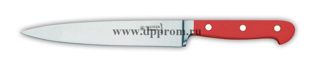 Нож поварской 8270 18 см, узкий красный
