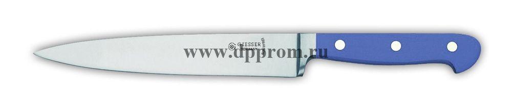 Нож поварской 8270 18 см, узкий синий