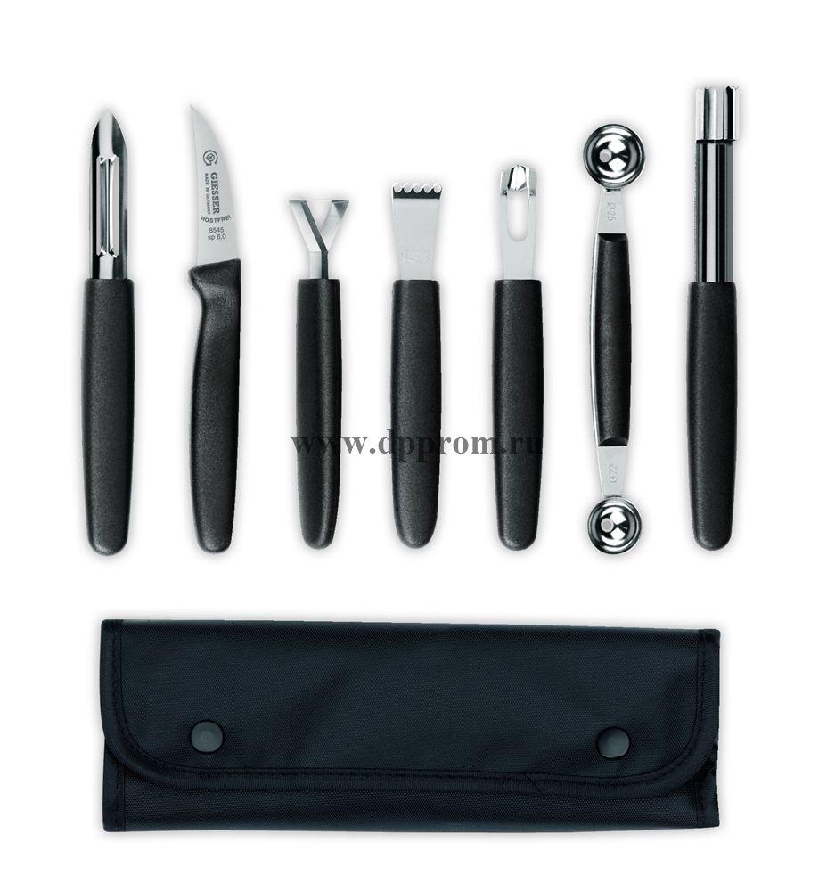 Набор ножей для декора и сервировки 6813b, вкл. 7 предметов