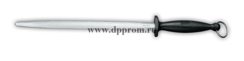Мусат тонкой заточки 9905 31 см овальный черный