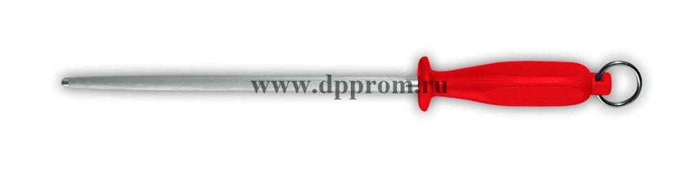 Мусат стандартный 9924 25 см круглый красный