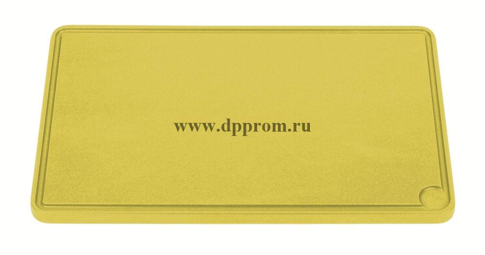 Доска разделочная 6870 26,5 см желтая