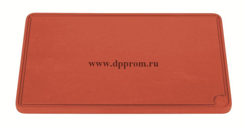 Доска разделочная 6870 26,5 см красная