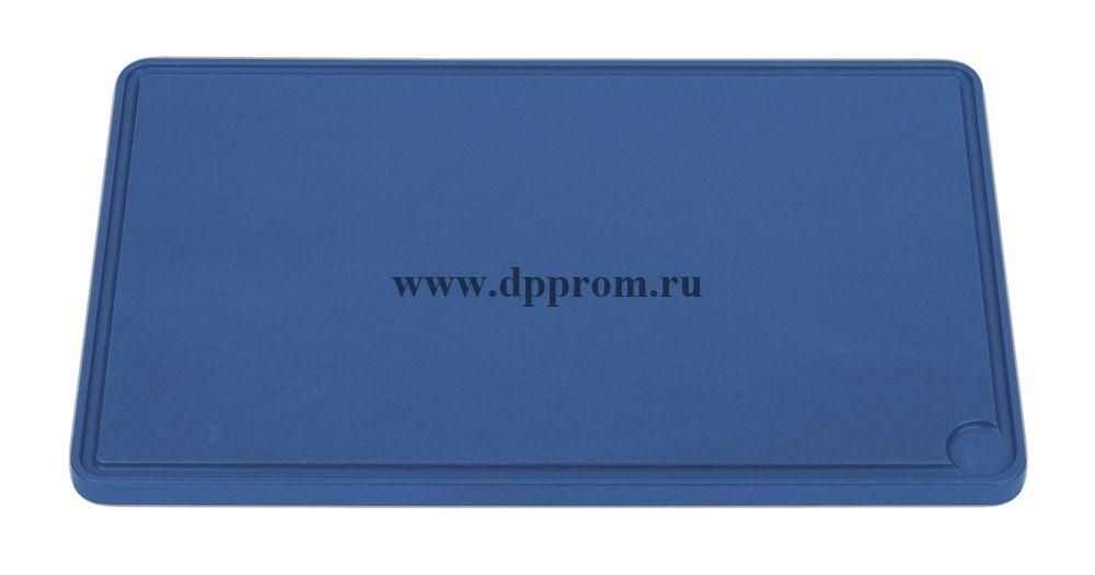 Доска разделочная 6870 26,5 см синяя