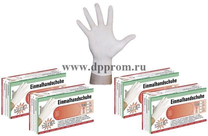 Латексные перчатки S/M/L/XL