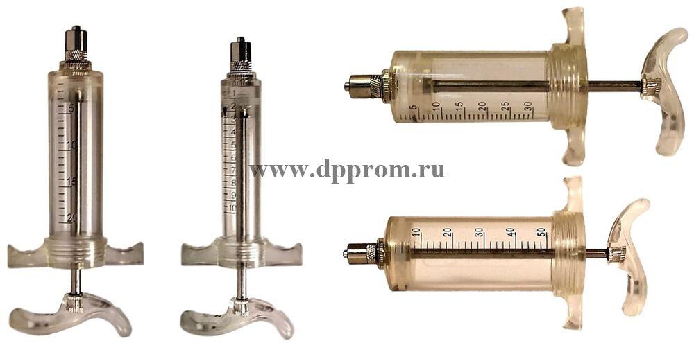 Многоразовые шприцы TU-Flex-Master A, Луер Лок