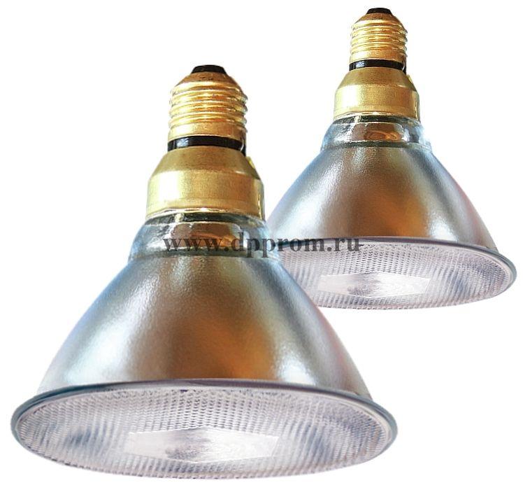 ИК-лампа Kerb, прозрачная, 100 и 175