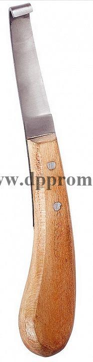 Нож копытный левосторонний, широкий