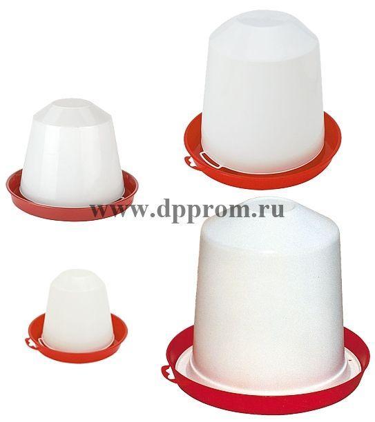 Пластмассовые поилки, 1,5-10 л