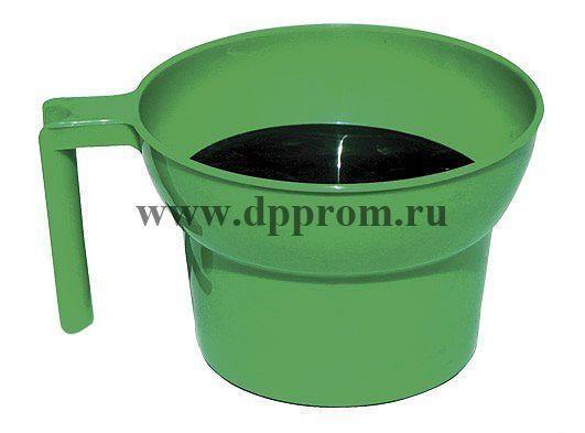 Стаканчик для сдаивания первых струек молока зеленый