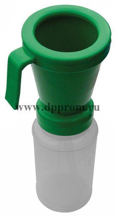 Вертикальный дезинфектор для обработки пеной, зеленый
