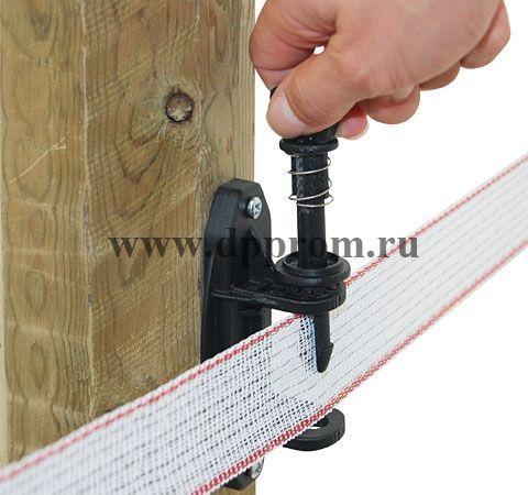 Изолятор премиум для ленты с натяжителем - фото 51156