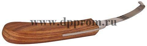 Нож копытный 2-стор, узкий