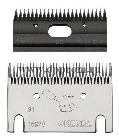 Комплект стригальных ножей Premium 31/23