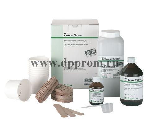 Набор для лечения копыт Technovit 6091 10 использований + ускоритель