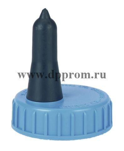 Запасная соска с резьбовой крышкой (синего цвета)