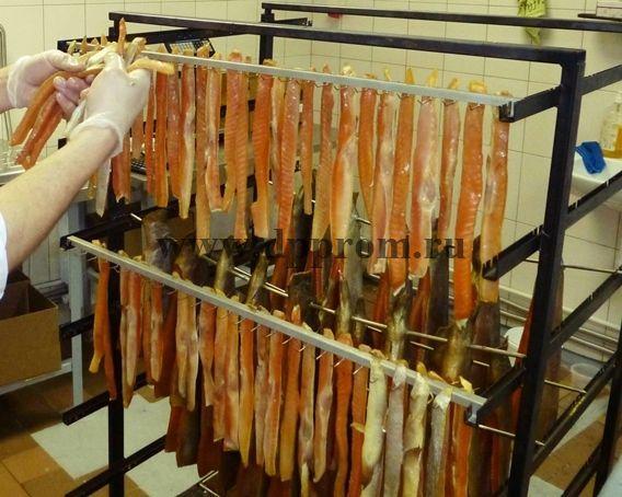 """Шампура """"Казачьи"""" - специализированные для мелкой продукции, комплект на 7 рядов, 42 шт - фото 52051"""