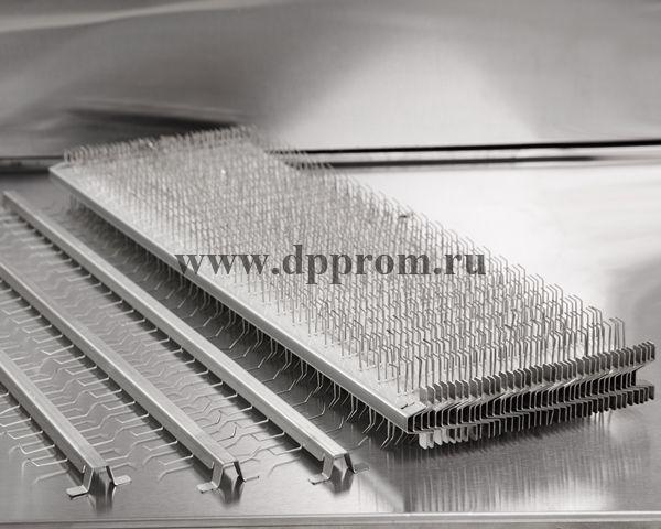 """Шампура """"Казачьи"""" - специализированные для мелкой продукции, комплект на 7 рядов, 42 шт - фото 52054"""