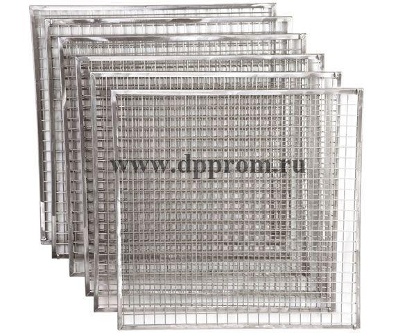 Комплект решеток для копчения филе из нержавеющей стали - фото 52058
