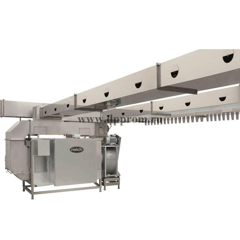 Климатическая установка AIRMASTER® KKRI CLIMASTAR: предсозревание с использованием дыма